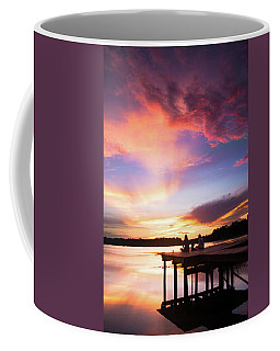 Coffee Mug featuring the photograph Sunset Glory by Parker Cunningham