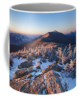 Sunset Glow On Franconia Ridge Coffee Mug