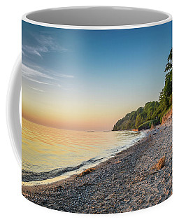 Sunset Glow Over Lake Coffee Mug