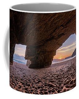 Sunset Grotto On Praia Do Beliche Coffee Mug