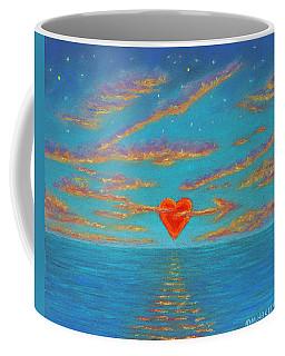 Sunset Heart 01 Coffee Mug