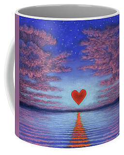 Sunset Heart 02 Coffee Mug