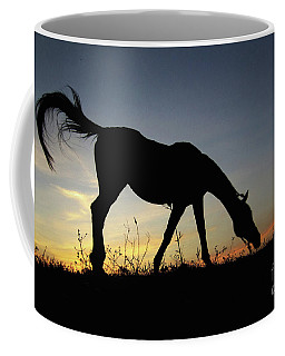 Sunset Horse Coffee Mug