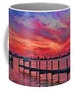 Sunset Impressionism Coffee Mug