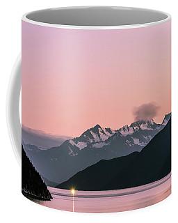 Sunset In Alaska Coffee Mug