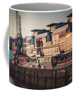 Sunset In Altona Hamburg Coffee Mug