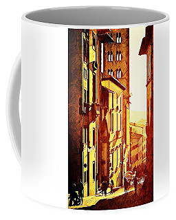 Sunset In Arezzo Coffee Mug by Andrea Barbieri