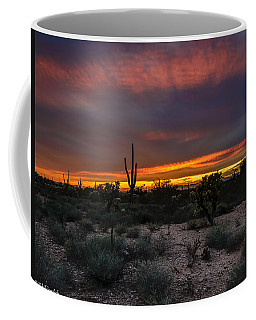 Sunset In Arizona Coffee Mug