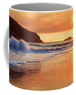 Coffee Mug featuring the photograph Sunset In Brookings by James Eddy