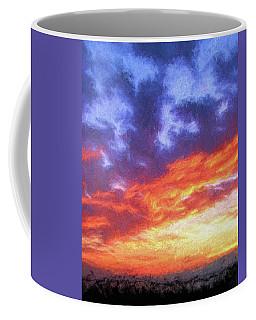 Sunset In Carolina Coffee Mug
