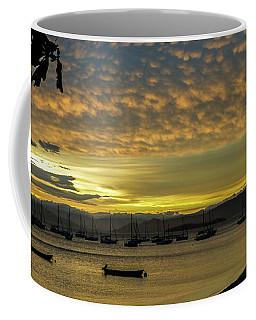 Sunset In Florianopolis Coffee Mug