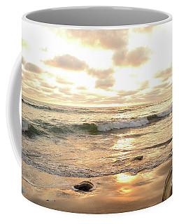 Sunset In Golden Tones Torrey Pines Natural Preserves #2 Coffee Mug