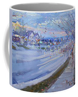Sunset In Guelph St Georgetown On Coffee Mug
