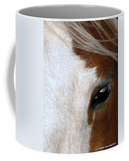 Sunset In Her Eyes Coffee Mug