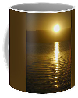Sunset In January Coffee Mug