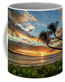 Coffee Mug featuring the photograph Sunset In Kaanapali by James Eddy