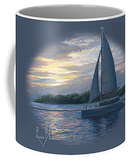 Sunset In Key West Coffee Mug