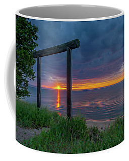 Sunset In Marquette Coffee Mug