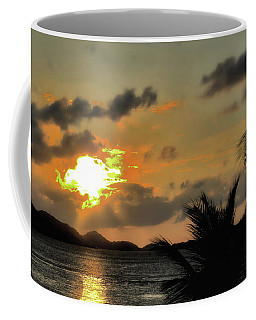 Coffee Mug featuring the photograph Sunset In Paradise by Jim Hill