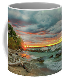 Sunset In Rocky River, Ohio Coffee Mug