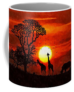 Sunset In Savannah Coffee Mug