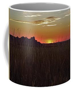 Sunset In The Badlands Coffee Mug