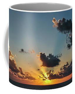 Sunset In The Caribbean Sea Coffee Mug