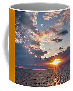 Sunset In The Clouds Coffee Mug