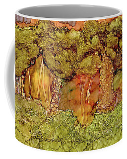 Sunset In The Forest Coffee Mug