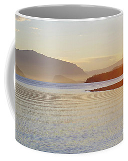 Sunset In The Mist Coffee Mug