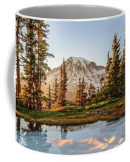 Sunset In The Pinnacle Saddle Coffee Mug