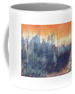 Sunset In The Winter Woods Coffee Mug