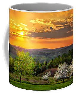 Sunset In Tioga County Pa Coffee Mug