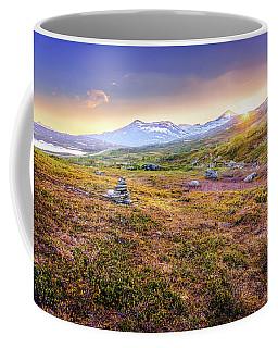 Sunset In Tundra Coffee Mug