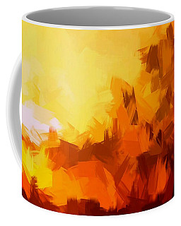 Sunset In Valhalla Coffee Mug