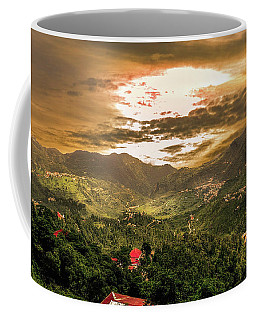 Sunset In Valley  Coffee Mug