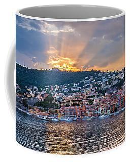 Sunset In Villefranche-sur-mer Coffee Mug