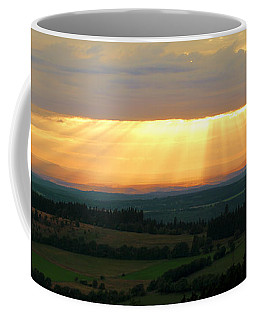 Sunset In Vogelsberg Coffee Mug