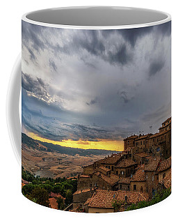 Sunset In Volterra Coffee Mug