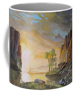Sunset In Yosemite Coffee Mug
