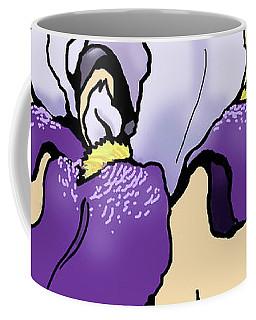 Sunset Iris Coffee Mug
