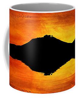 Sunset Island Coffee Mug