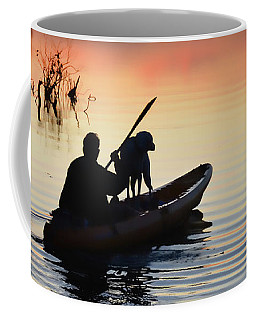 Sunset Kayaker Coffee Mug
