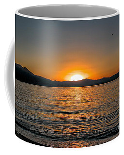 Sunset Lake 3 Coffee Mug