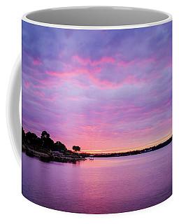 Sunset Lake Arlington Texas Coffee Mug