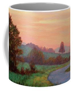 Sunset Meditation- In The Blue Ridge Mountains Coffee Mug