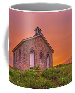 Coffee Mug featuring the photograph Sunset Of 1882 by Darren White