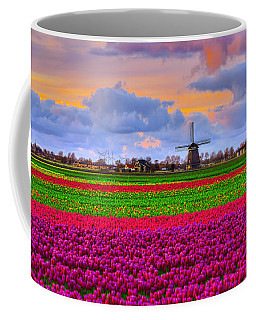 Sunset Of Colors Coffee Mug by Midori Chan