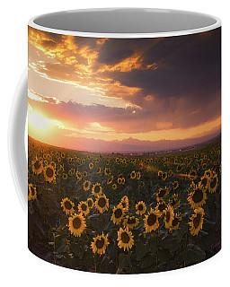 Coffee Mug featuring the photograph Sunset Of Summer by John De Bord