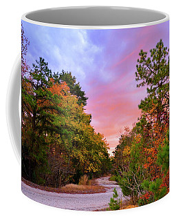 Sunset On Bombing Run Road Coffee Mug